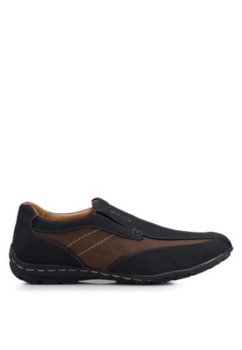 Louis Cuppers black Faux Leather Shoes 1427ESH6F6B498GS_1