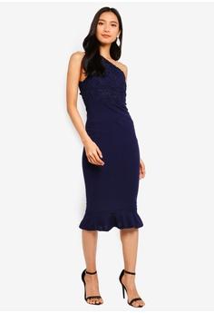 92b7e824897 10% OFF AX Paris One Shoulder Crochet Top Dress RM 195.00 NOW RM 175.90  Sizes 8 10 12 14