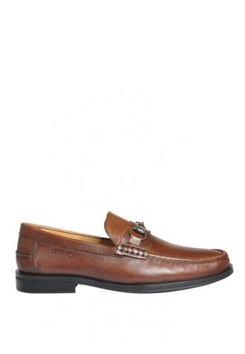 Sebago brown Eliott Bit Dress Casual Shoes SE328SH0K35TPH_1
