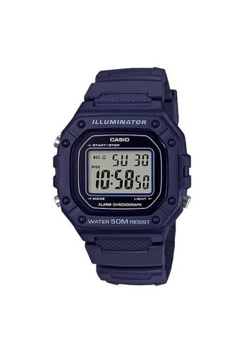 Casio blue CASIO GENERAL W-218H-2AVDF UNISEX'S WATCH 1A3FFAC61CC5D0GS_1