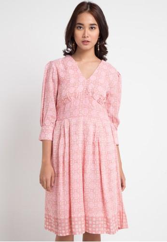 Vestiti pink Adriani Putri Dres 74408AA26C77E4GS 1 0503c1826e