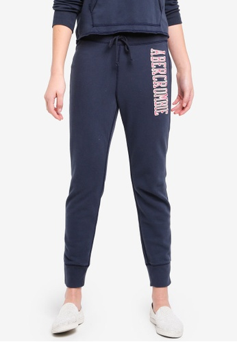 Abercrombie & Fitch blue Seasonal Core Jogger 0DECAAA5F9231BGS_1