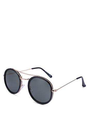 Jack & Jones black Jacob Sunglasses A0A7BGL6CEB5ACGS_1