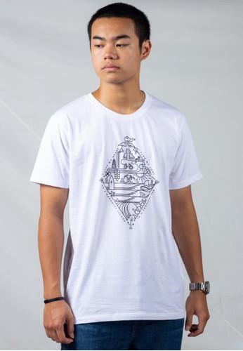Bali Tees white Symbols Tee 8CDF9AA1FA0498GS_1