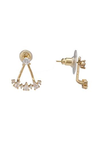 ALDO gold Thoanna Pierced Earrings 05D52AC86E2E85GS_1