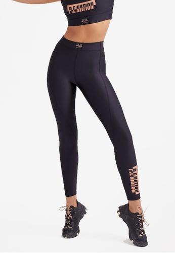 P.E Nation black Rebound Leggings 0FE08AAB055B75GS_1