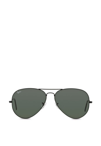 Aviator Large Metal II 墨zalora 心得 ptt鏡, 飾品配件, 飾品配件