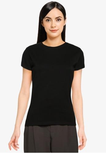 LOWRYS FARM black Message T-Shirt D7A92AAF7E7411GS_1