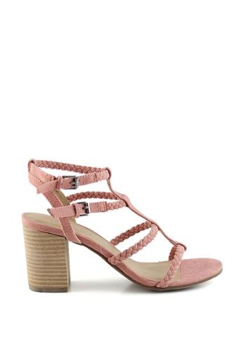 London Rag pink Gracie Gladiator sandals EF01FSHA850DA5GS_1