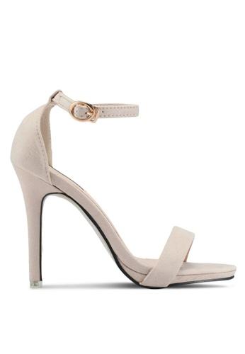 Mimosa pink Slim Strap Heels 30724SH80F95CAGS_1