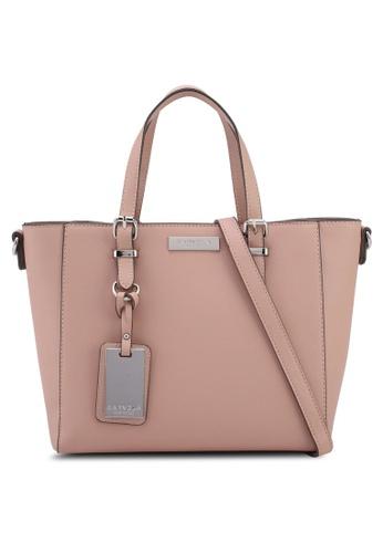 Carvela KG pink Danna Medium Winged Tote Bag BA843ACE87B56CGS_1