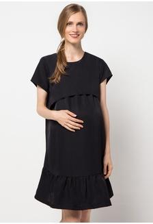Maternity Nursing Dress 53020 CH841AA44VTRID 1 Chantilly ... 23ee3ddf38