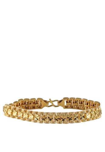 Megane gold Kenanga Gold Plated Bracelet 4F9DAAC2D1EA34GS_1