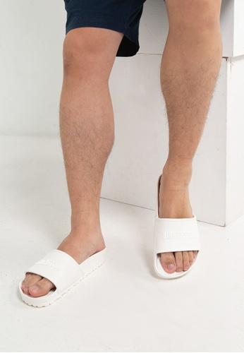 Birkenstock white Barbados EVA Sandals 7C91FSH71EBE4CGS_1