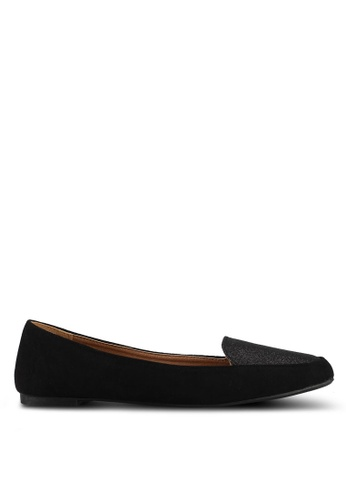 Rubi 黑色 Peta Point Loafers 4F4E9SHA91EBA8GS_1
