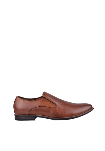 Obermain brown Obermain Nossen Slip On In Tan D0744SH4E956B3GS_1
