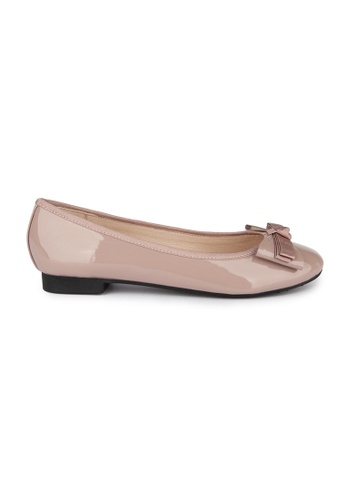 MAUD FRIZON pink Patent Pu With Grosgrain Bow Ballerina 8339DSHD135403GS_1