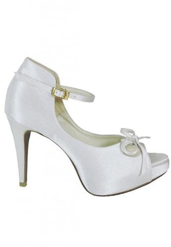 Jacque white Iris High Heel White JA262SH89GCGMY_1