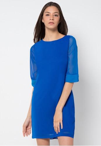 EPRISE blue Dress Sifon EP457AA52OPZID_1
