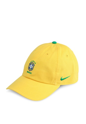Nike green and gold Unisex Brasil CBF Heritage86 Cap 7C989AC922842CGS_1