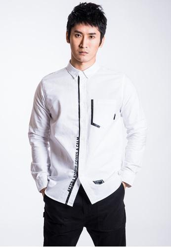 ad8c0884cf6 Buy L.I.M.I.T.E Men s Marble with Oxford Shirt Online on ZALORA Singapore