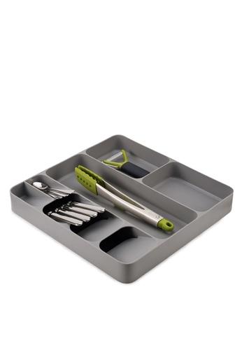Joseph-Joseph grey DrawerStore Cutlery, Utensil and Gadget Organiser CE5A6HL75CF256GS_1
