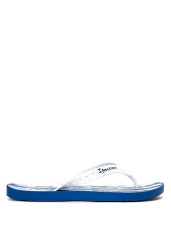 Ipanema white and blue Arpoader Temas Flip Flops IP498SH0K445PH_1