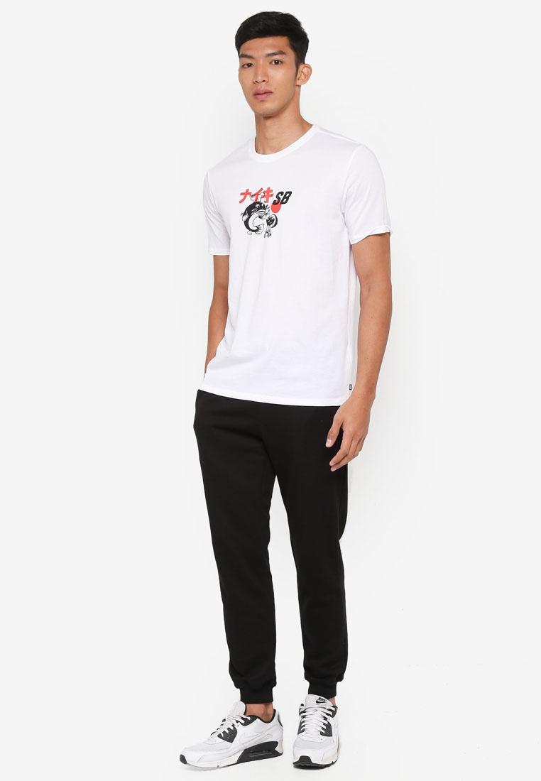 Nike Dry Black Nike Shirt SB White T Men's qfvXxpwnx