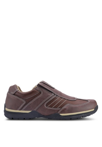 Weinbrenner brown Slip On Sneakers 0E926SH14D2345GS_1