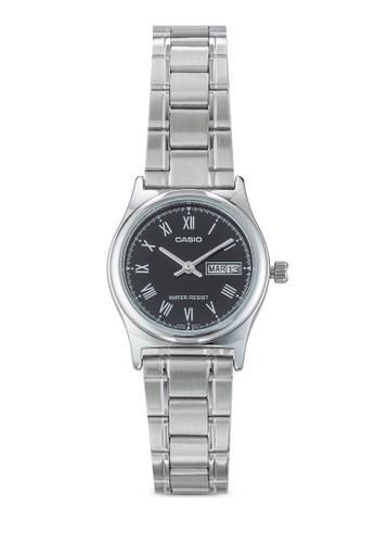 Casio LTP-V006D-esprit taiwan1BUDF 不銹鋼圓錶, 錶類, 飾品配件