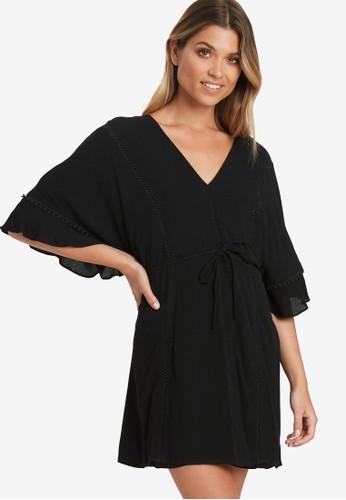 The Fated black Devotion Mini Dress 61FF3AA7F36437GS_1