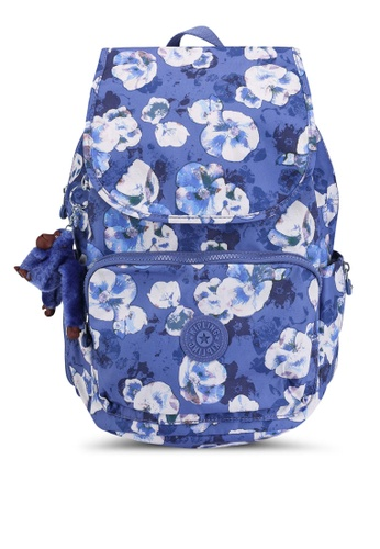 Kipling blue and multi Cayenne Backpack E6069AC661D100GS_1