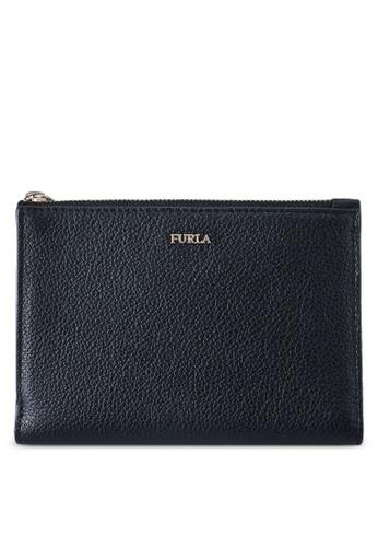 Furla black Linda M Passport Holder 448F0ACF9198EFGS_1
