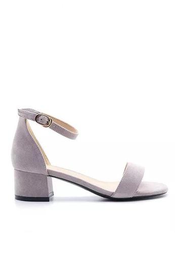 Twenty Eight Shoes 小踭橫帶涼鞋320-5 7AF1ASH57030E0GS_1
