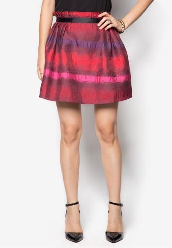 多色短裙, 服飾, zalora時尚購物網的koumi koumi服飾