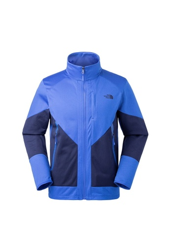 ff5374d16d The North Face blue The North Face Men Fast Hike Tech Fleece Jacket Blue  B22A1AAE684EE1GS 1