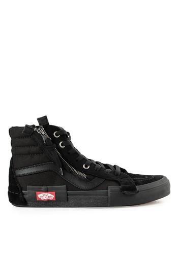 bb4deb64c27 Vans black Ua Sk8-Hi Reissue Cap AE3ACSHA1F77DCGS 1