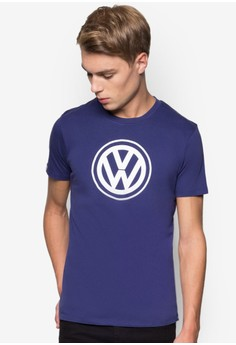 Round Neck Signature Graphic T-Shirt