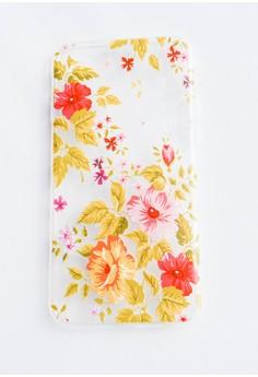 Flower Garden Soft Transparent Case for iPhone 6 plus, iPhone 6s plus