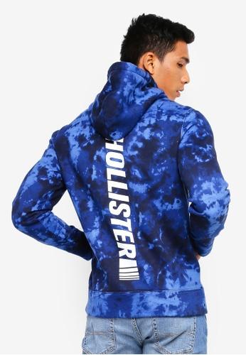 Hollister 藍色 LOGO帽T 713CAAA680698DGS_1