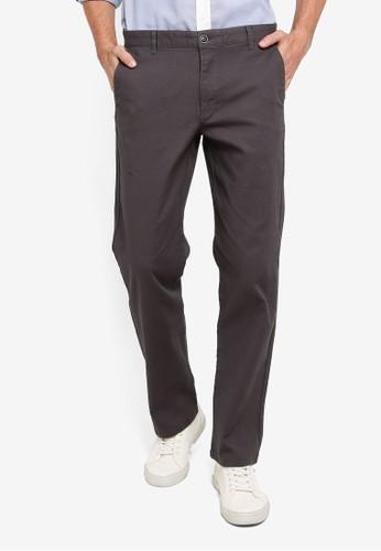 LC Waikiki grey Comfortable Fit Twill Trousers 3BB7CAAB468051GS_1