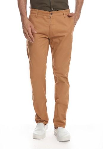 MOC brown Pants Mocka - Tan 396F9AA1DCE4B6GS_1