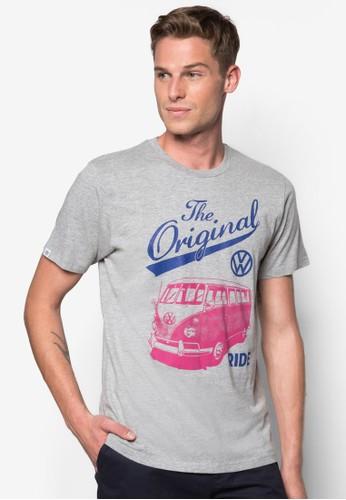 貨車圖案文字Tee, 服飾, 印圖esprit服飾T恤