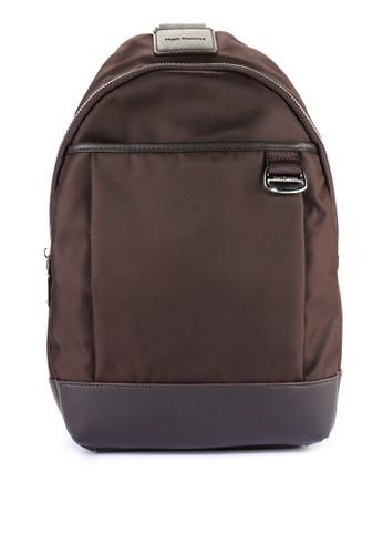 Hush Puppies brown Grayson Bodybag 74B3FAC1C02F86GS 1 97924b676e