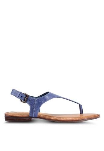 ALDO 海軍藍色 Bloor U 涼鞋 222A7SHC1FD97AGS_1