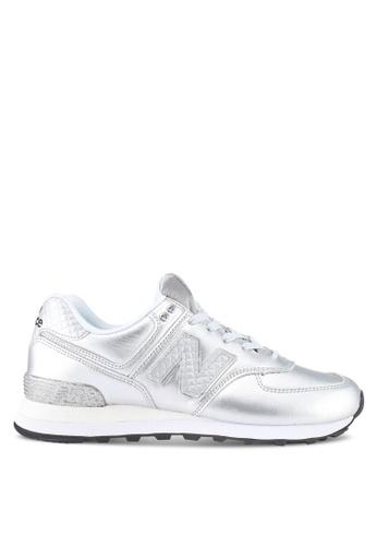 new style 9ea9a 28888 574 Glitter Punk Shoes