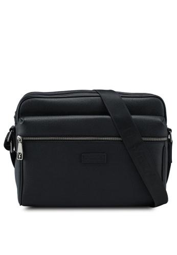 Playboy black Genuine Leather Sling Bag B9771ACA51D795GS_1