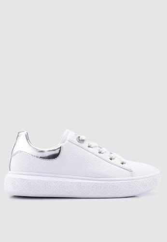 626cf43638 Guess white Bucky Sneakers 21487SH4DE9BF2GS 1