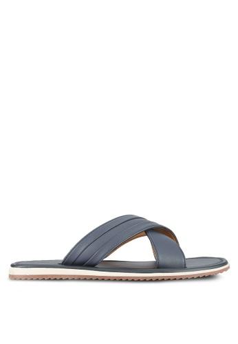 Call It Spring blue and navy Olaossa Sandals CA512SH0RLIXMY_1
