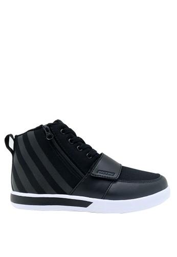 Precise black Precise Dastan JT Sepatu Pria - Hitam/Putih 48318SHEA37BBDGS_1